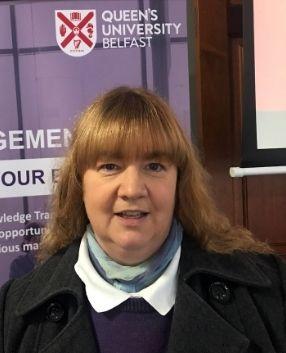 Dr Shirley Ann Hazlett, Senior Lecturer, Queen's University Belfast Management School